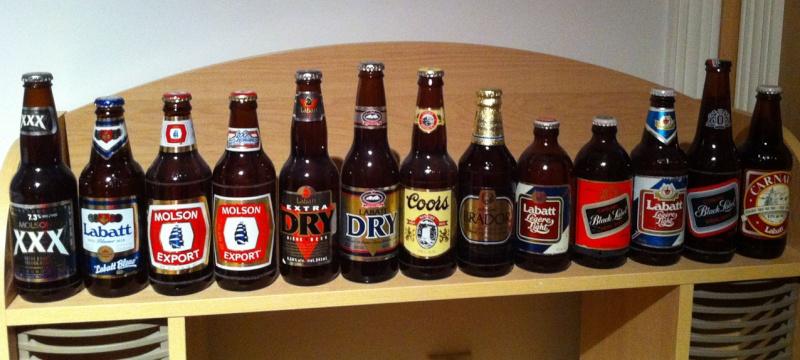 colection de biere ancienne non debouchée.. Bieres10