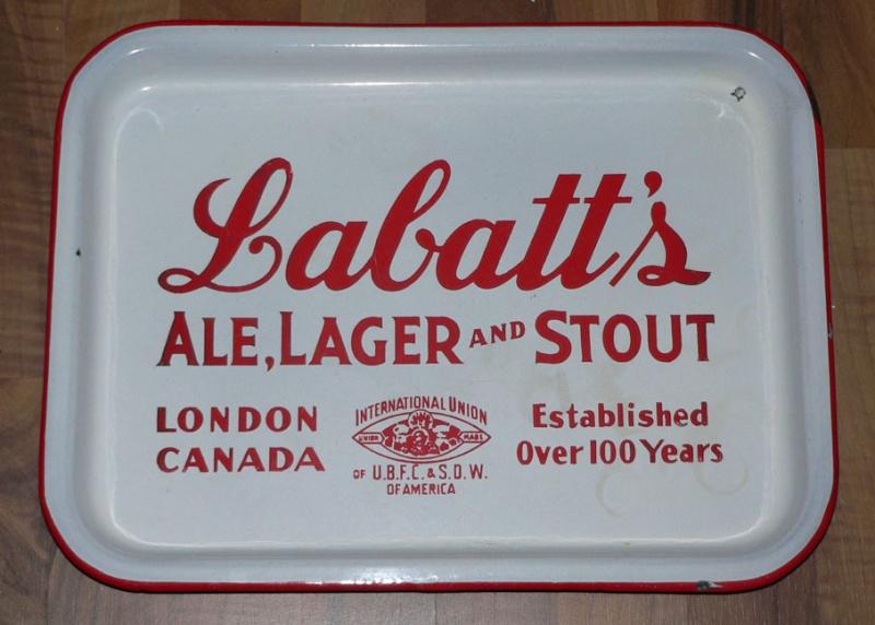 Cabaret de bière Labatt en porcelaine Labatt10