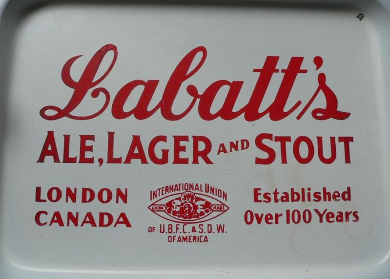 Cabaret de bière Labatt en porcelaine Labatt13