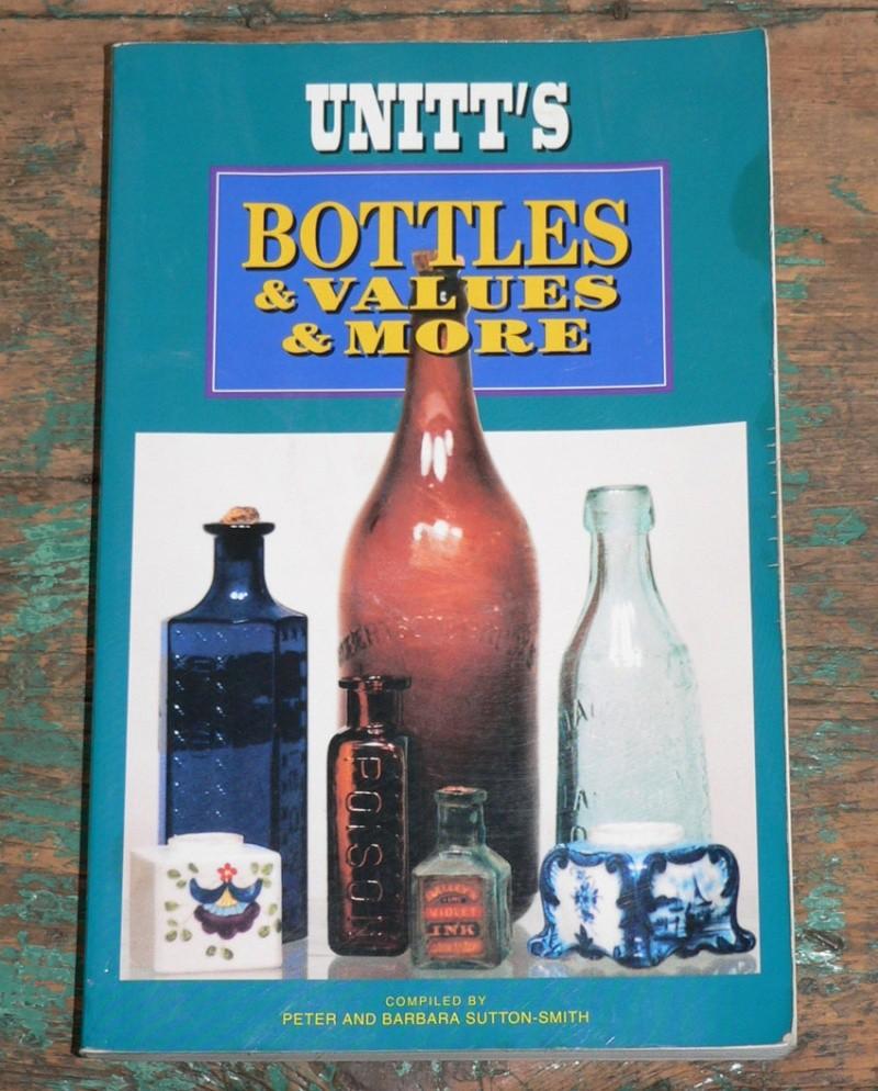 Livre 'Unitt's / Bottles & values & more' - livre de référence sur les bouteilles du Canada Livre10
