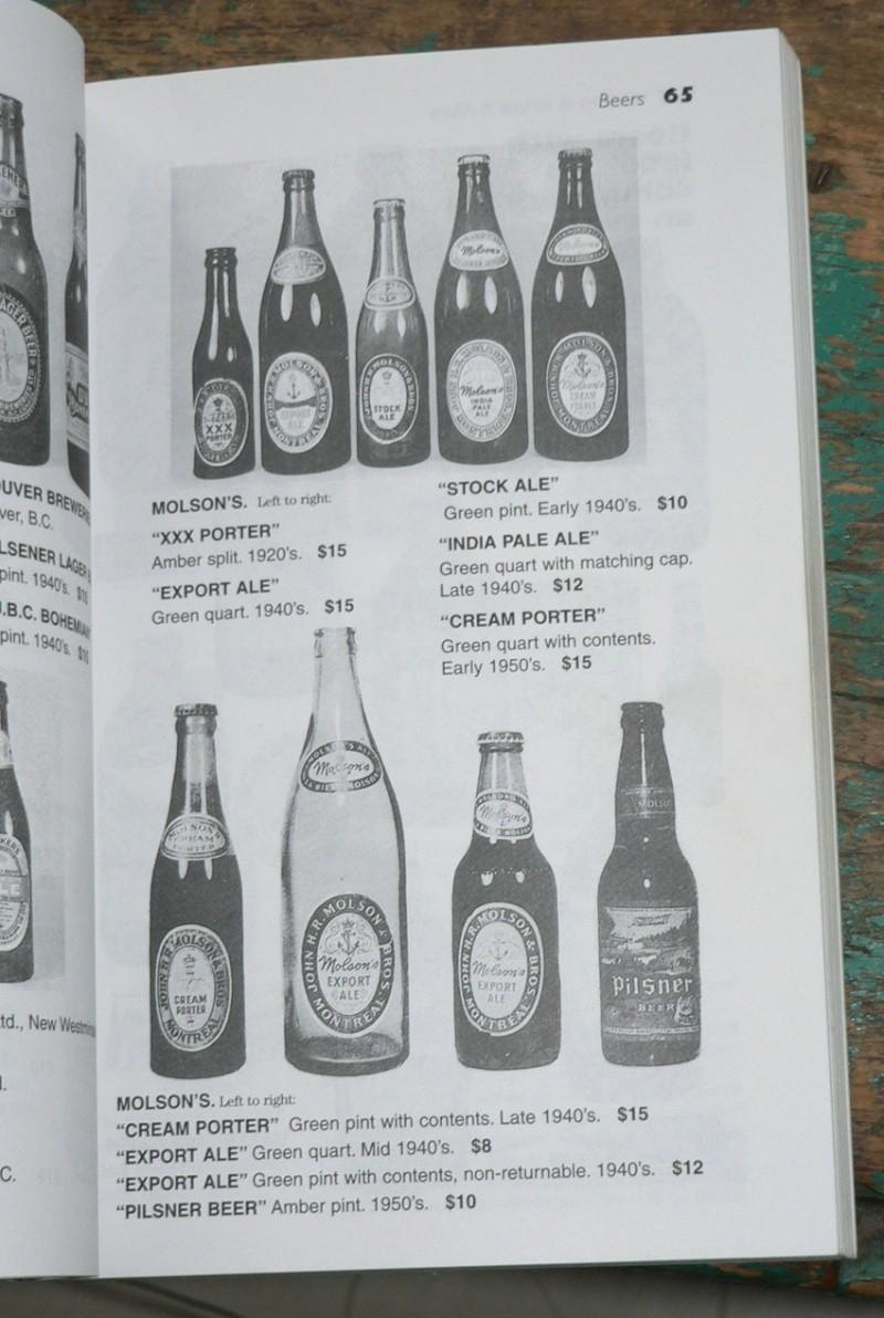 Livre 'Unitt's / Bottles & values & more' - livre de référence sur les bouteilles du Canada Livre210