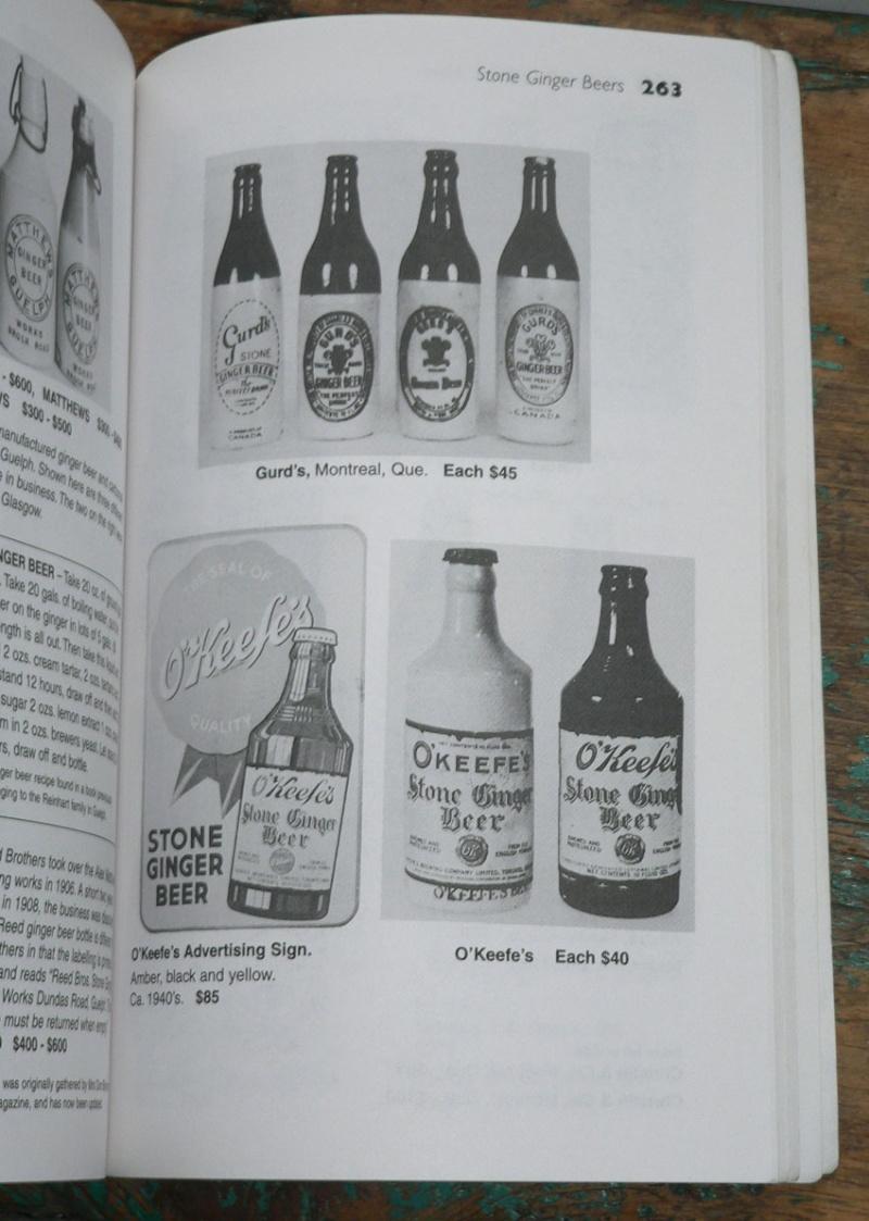 Livre 'Unitt's / Bottles & values & more' - livre de référence sur les bouteilles du Canada Livre410