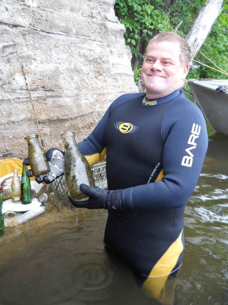 Rapport de plongée au Lac McGregor - 30 Juin 2011 Macgre14
