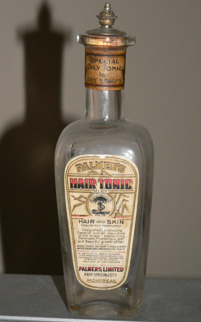 Information recherchée sur une bouteille Palmer10