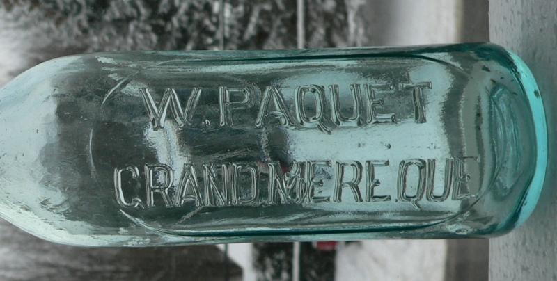 W. PAQUET / Grand'Mère, Québec - 10oz - BIMAL Paquet11