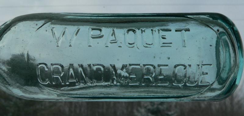 W. PAQUET / Grand'Mère, Québec - 10oz - BIMAL Paquet12