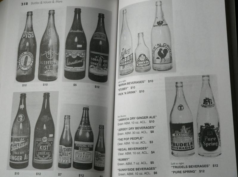 quels sont les price guide les plus complet sur les bouteille de biere , liqueuer , pot et les bouteille alimentaire et aussi ou je puis me les procuré. MERCI D'AVANCE  Unitt110