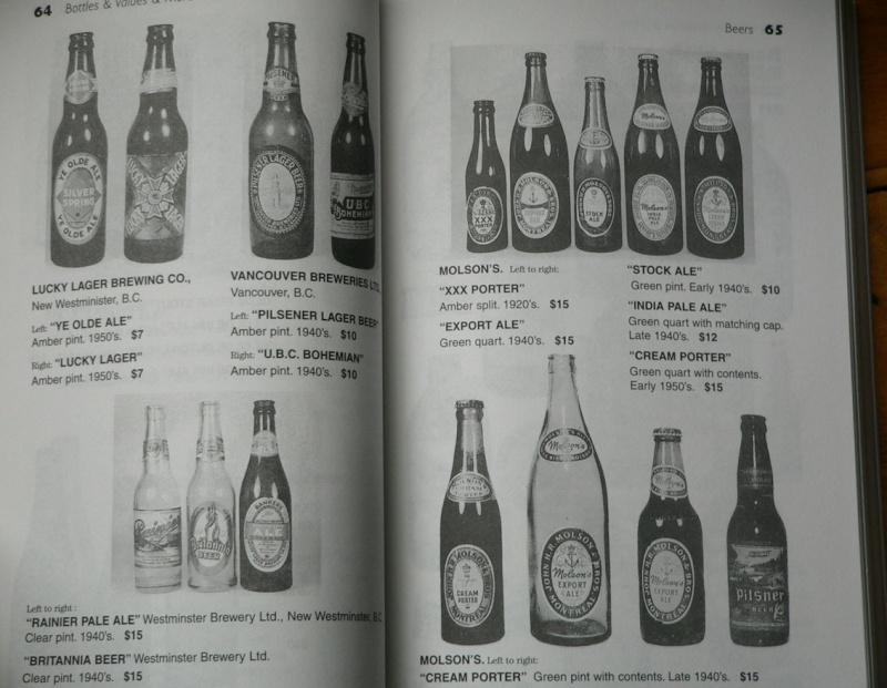 quels sont les price guide les plus complet sur les bouteille de biere , liqueuer , pot et les bouteille alimentaire et aussi ou je puis me les procuré. MERCI D'AVANCE  Unitt210