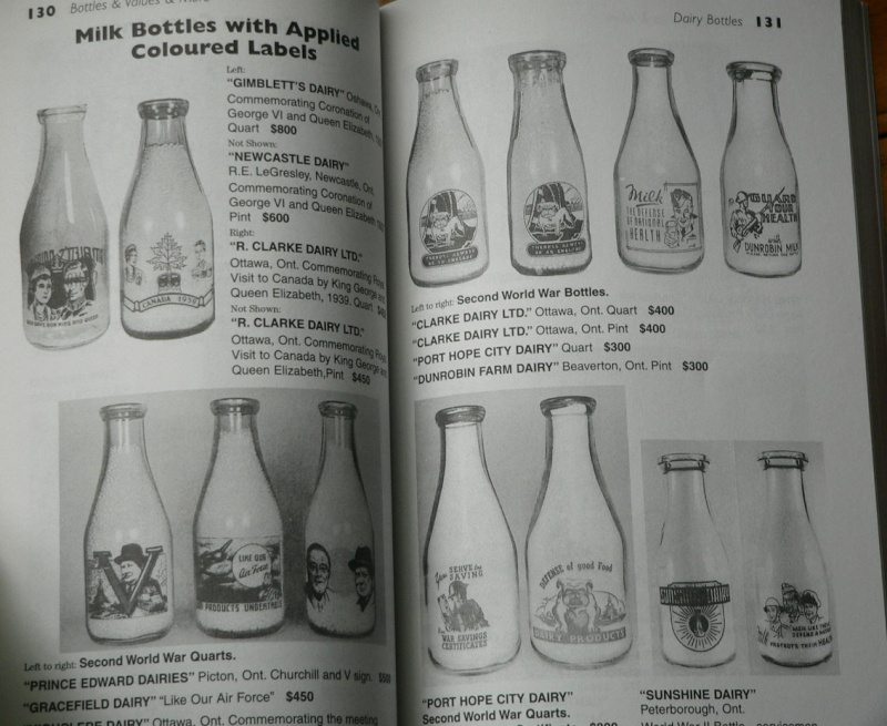 quels sont les price guide les plus complet sur les bouteille de biere , liqueuer , pot et les bouteille alimentaire et aussi ou je puis me les procuré. MERCI D'AVANCE  Unitt410