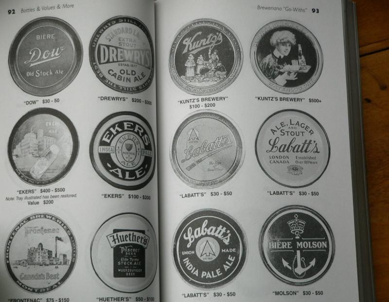 quels sont les price guide les plus complet sur les bouteille de biere , liqueuer , pot et les bouteille alimentaire et aussi ou je puis me les procuré. MERCI D'AVANCE  Unitt510
