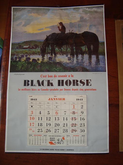calendriers black horse Calend12