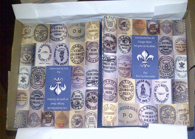 le livre Les bouteilles de ginger beer en grès du québec Chambl10