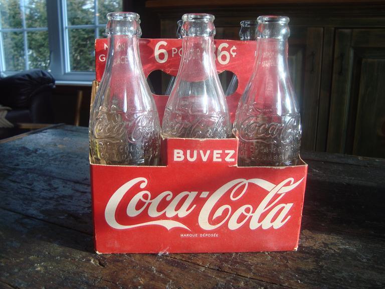 6 pack coca cola 6 pour 36¢ Dsc02130