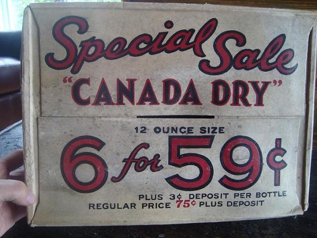 carton canada dry 6x 59¢ Dsc03023