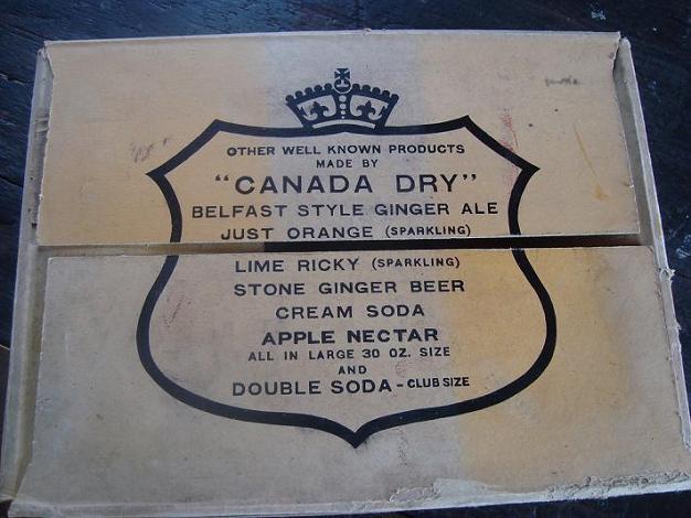 carton canada dry 6x 59¢ Dsc03024