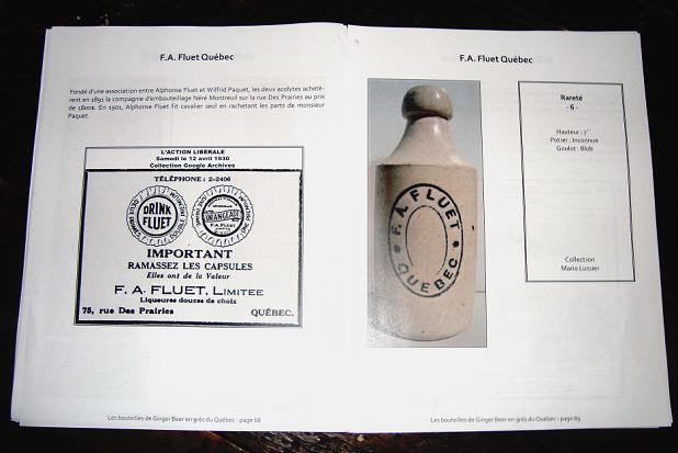 le livre Les bouteilles de ginger beer en grès du québec Dsc04114
