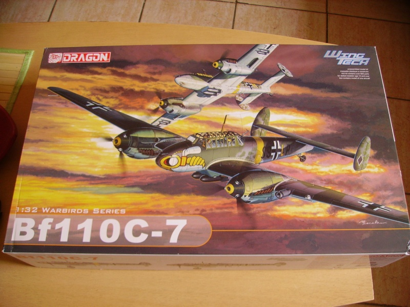 messerschmitt Bf 110 C dragon 1/32 Imgp0459