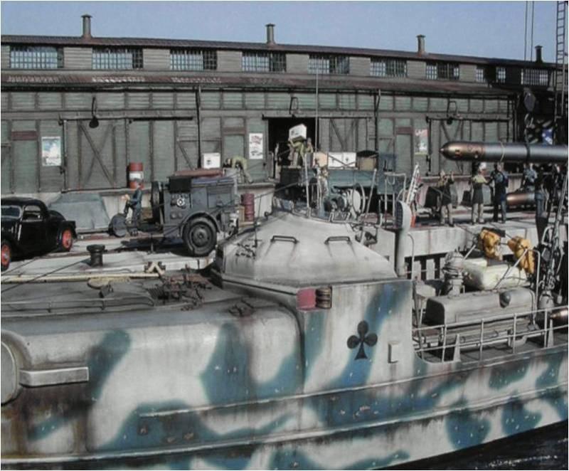 schnellboot S100 italeri Pictur10