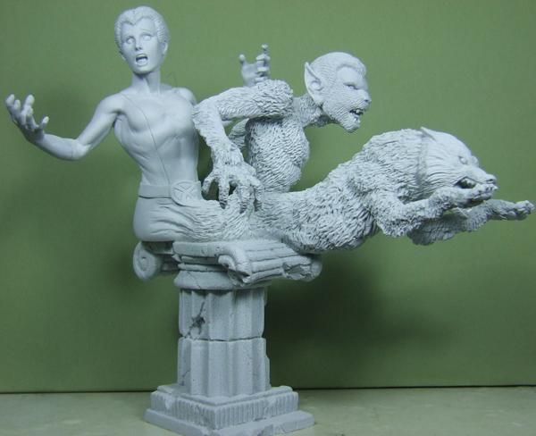 Felina sculpté par Troy McDevitt. Sous_c10