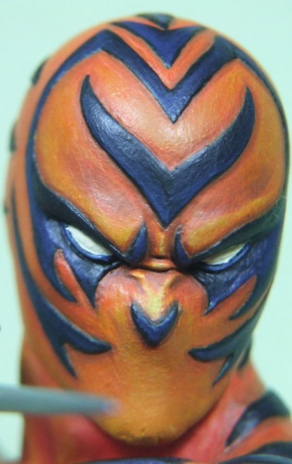Le Bengal sculpté par Arnaud GUILLIAMS Visage16
