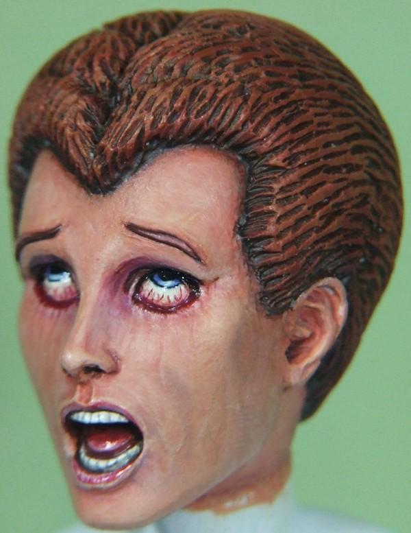 Felina sculpté par Troy McDevitt. Visage18