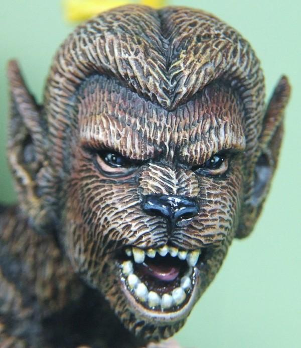 Felina sculpté par Troy McDevitt. Visage19
