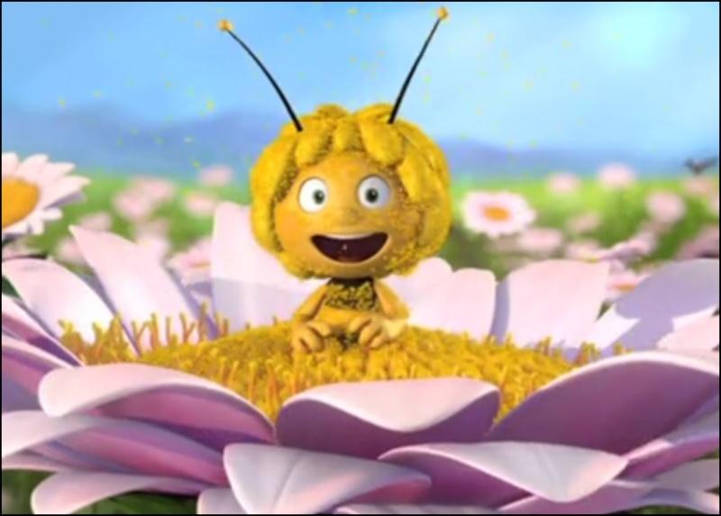 Maya l'abeille, Vic le vicking, Heidi... en 3D Maya10