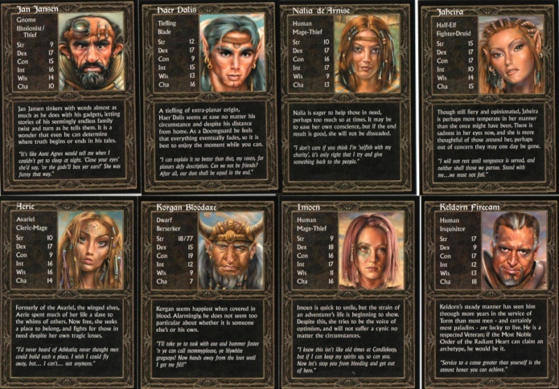 RPG BLACK ISLE, BIOWARE ... Baldur's Gate 2, Fallout, IWD, 936ful10