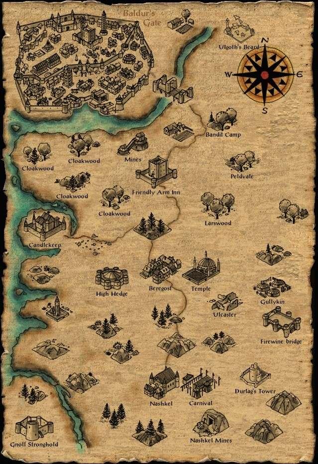 RPG BLACK ISLE, BIOWARE ... Baldur's Gate 2, Fallout, IWD, Swordc10
