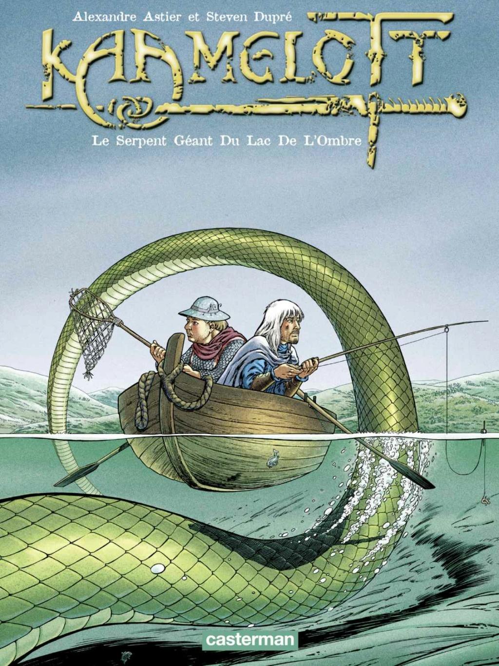 Kaamelott - Tome 5: Le Serpent Géant du Lac de L'Ombre [Astier, Alexandre & Dupré, Steven] Le_ser10