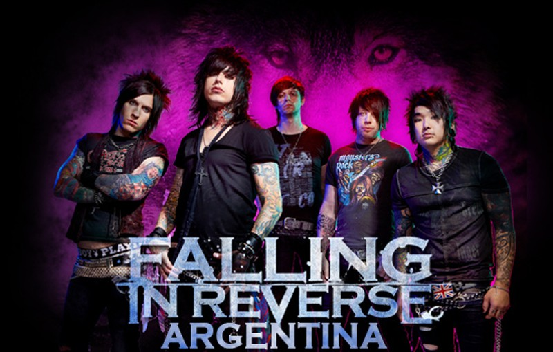Falling In Reverse Argentina