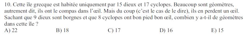 Propositions de problèmes de maths pour les collègues Kang10