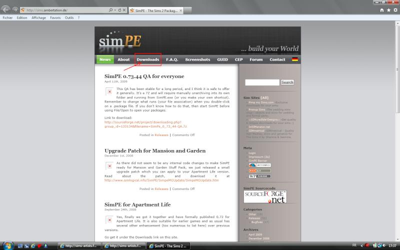 [Débutant] SimPE - Installation du logiciel View112