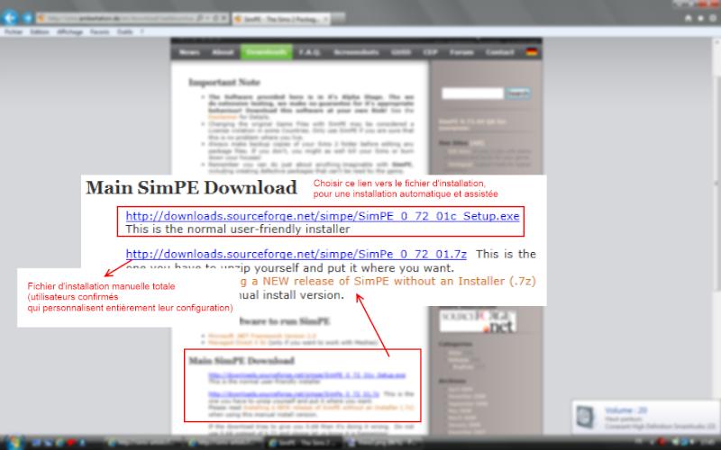 [Débutant] SimPE - Installation du logiciel View310