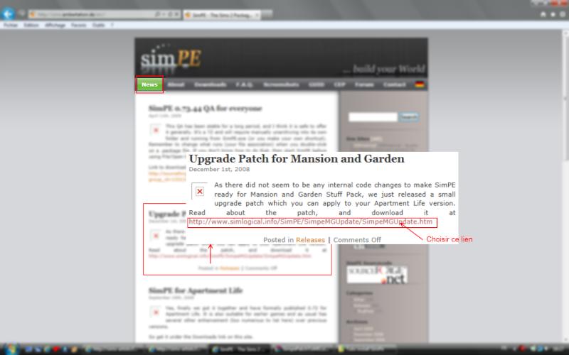 [Débutant] SimPE - Installation du logiciel View710