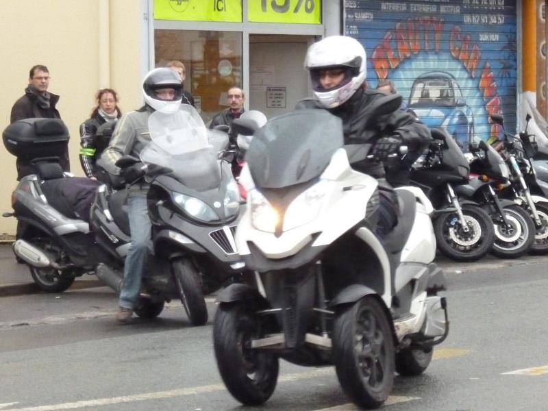 CR Team Idf essai Quadro 350D chez Motoscoot 94 P1010011