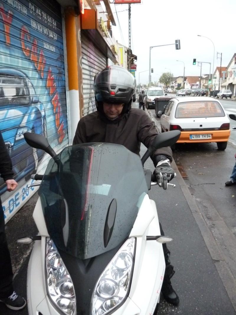 CR Team Idf essai Quadro 350D chez Motoscoot 94 P1010015
