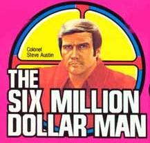 Steve Austin L'homme qui valait 3 milliards - KENNER MECCANO 197510