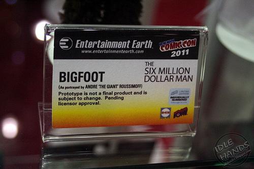 """Bif Bang Pow! Obtient les droits pour  """"The six million dollar Man"""" 63157111"""