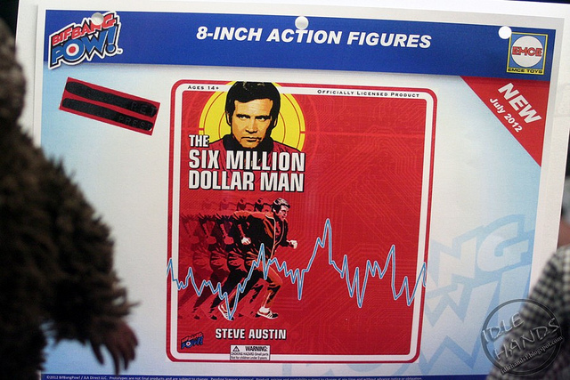 The Six Million Dollar man (BigBangPow) L'homme... milliards 69429910