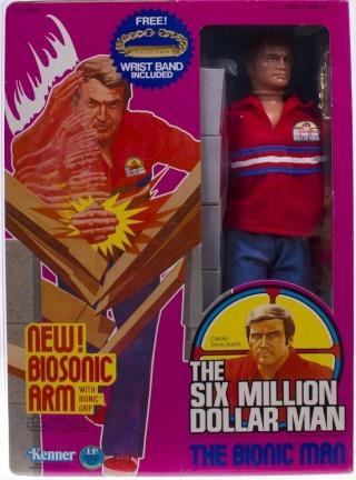 Steve Austin L'homme qui valait 3 milliards - KENNER MECCANO Bioson10