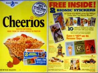 Steve Austin L'homme qui valait 3 milliards - KENNER MECCANO Cereal10