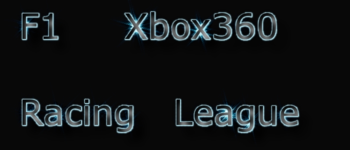 F1 Xbox 360 Racing League