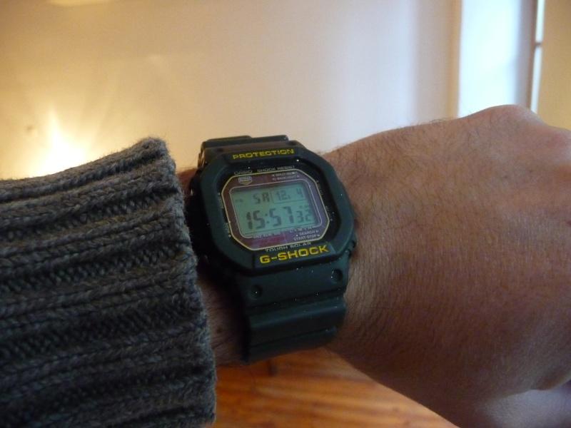 Aide montre pour un chasseur. P1040311