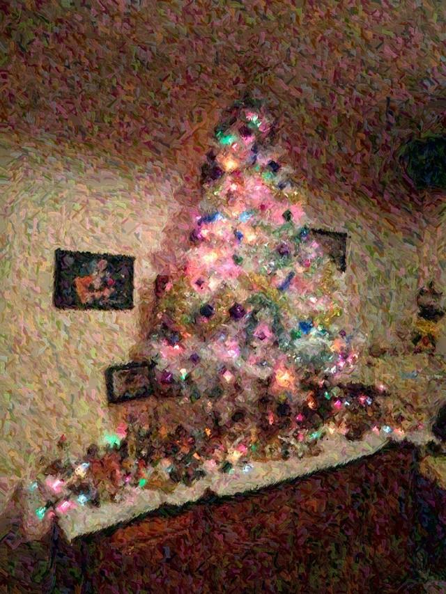 sapin de Noël  Cimg4621