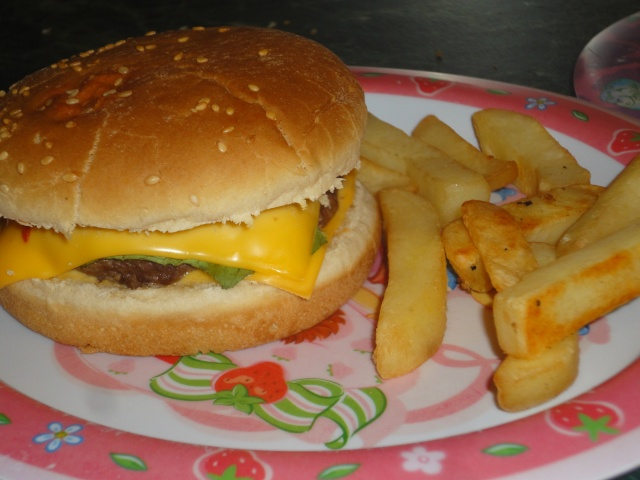 Cheese-burger : Dsc04612