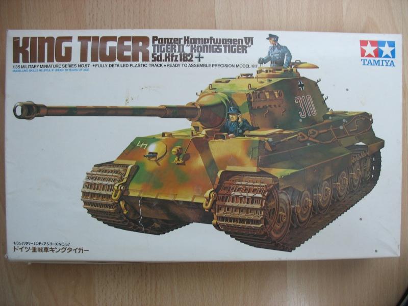King Tiger 1:35 TAMIYA Prasen10
