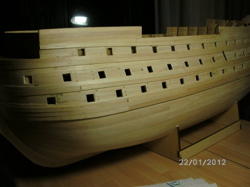 JesusBelzheim Baubericht Victory aus Holz - Seite 2 Bergho12