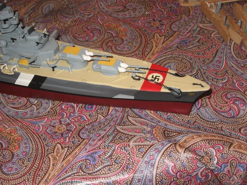 HMS Hood & DKM Bismarck Airfix au 1/600 - Page 2 Img_2712