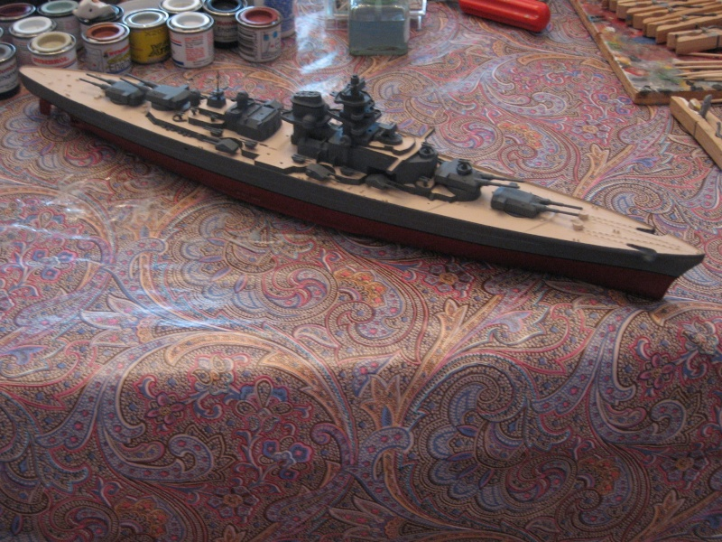 HMS Hood & DKM Bismarck Airfix au 1/600 - Page 2 Img_2715